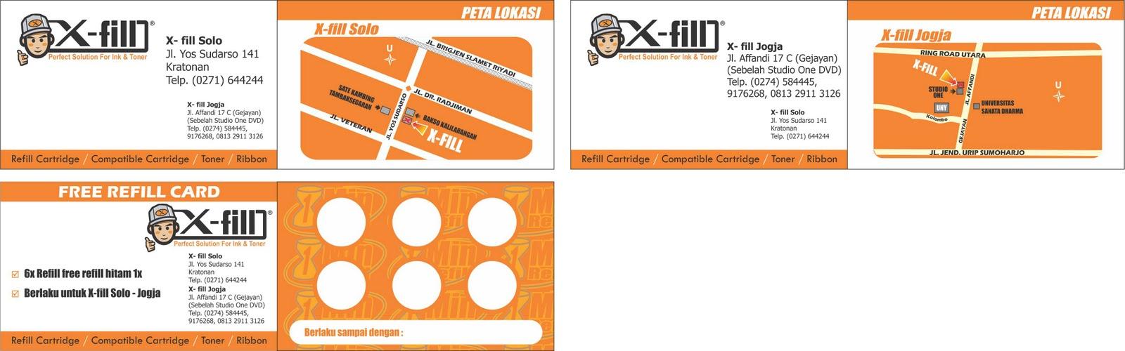 kreasi desain perez: name card, business card