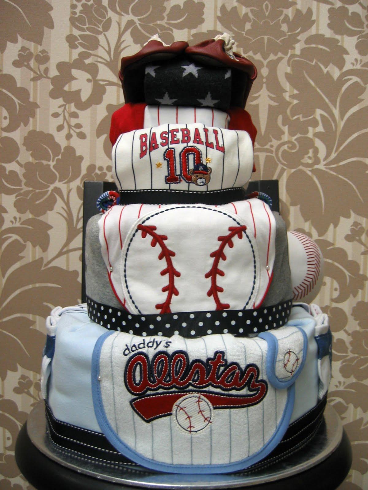 Diaper Cake Baseball