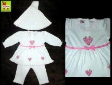 baju muslim bayi_bordir