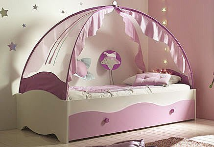 Girls Canopy Bed