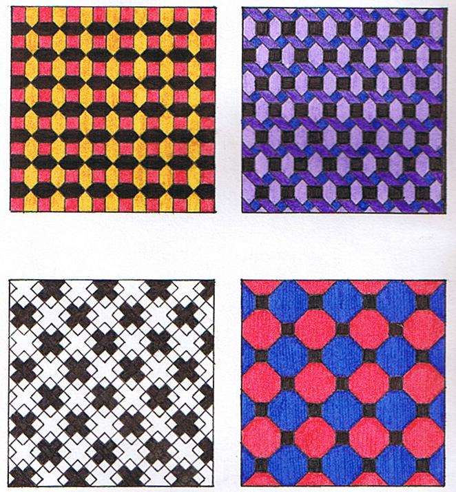 Departamento de artes mosaicos dibujo t cnico 1 bach for Disenos para mosaicos