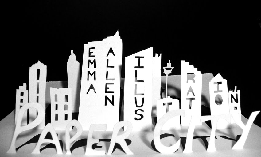 Paper City: Emma Allen Illustration