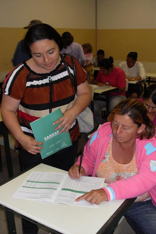 Reunião de Pais - Questionário do SARESP...