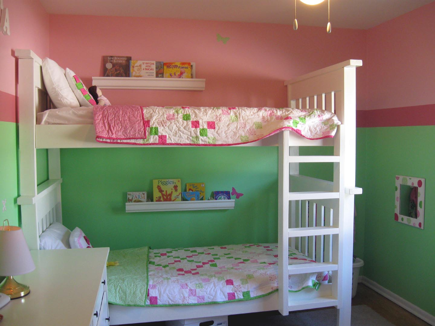 Boys and Girls Bedroom Ideas with Bunk Beds