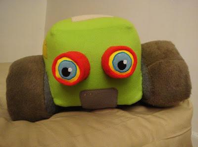 Denn Rodriguez Plush Robot