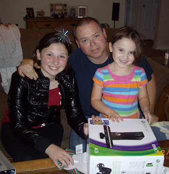 Mike and his daughters