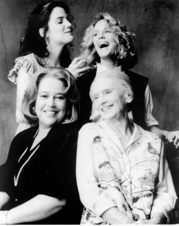 Ruth, Idgie, Evelyn, Ninny