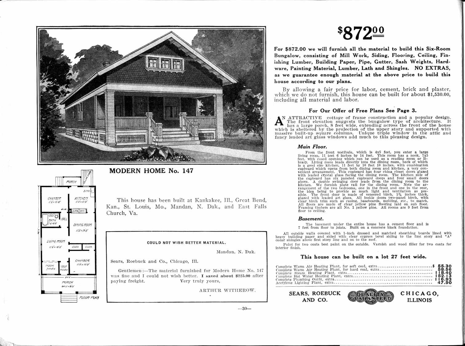 Rim Country Gazette Historic Sears Roebuck Gibson House
