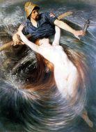 クヌート・エクヴァル「漁夫とセイレーン」