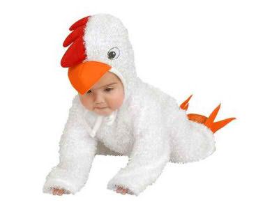 disfraz de gallina uac