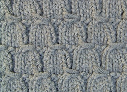 Knitting Cable Stitch Dictionary : Jezze Prints: Knitting a carpet
