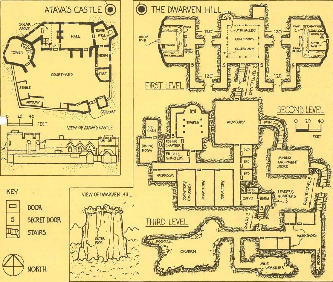 I SEE LEAD PEOPLE: Old School Maps 3