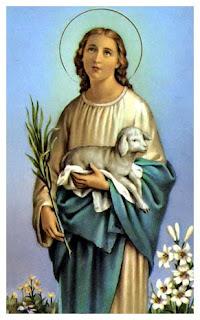 Znalezione obrazy dla zapytania św agnieszka