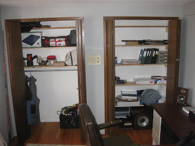 simple project, build closet shelves, shelf, wood