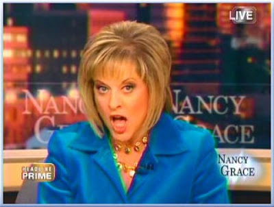 most annoying women, woman, nancy grace, yelling, screaming