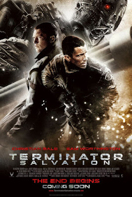 terminator salvation, movie poster, movie review, terminator 4, christian bale
