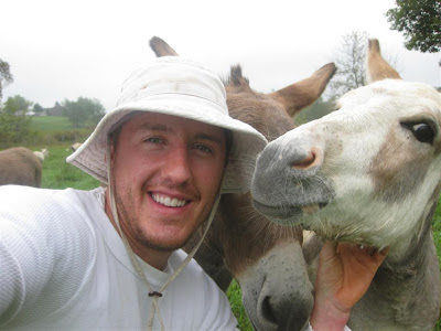 me and a donkey, not like that, jackson michigan, new friend