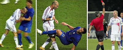 dirty soccer players, dirty football players, headbutt