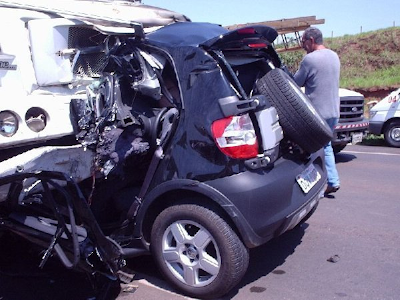 car accident from texting and driving, death