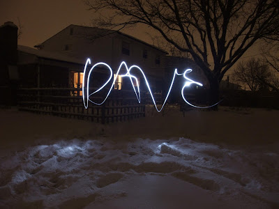 photography, write your name with sparklers, at night, long exposure