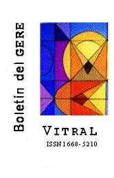 VITRAL, Boletín del GERE. Pídalo a: gere_prohal@yahoo.com