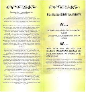 BORANG SAHAM WAKAF- SAHAM AKHIRAT M/S 3