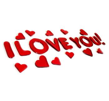 Les Je T Aime Du Net Les Je T Aime Avec Coeur 2 232 Me Partie Pictures Of Hearts That Say I You To Color