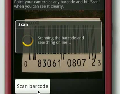 barcode scanner test. arcode scanner test. anything