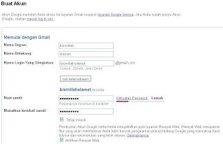 Tips Internet : Cara Membuat Email Gratis Di Google