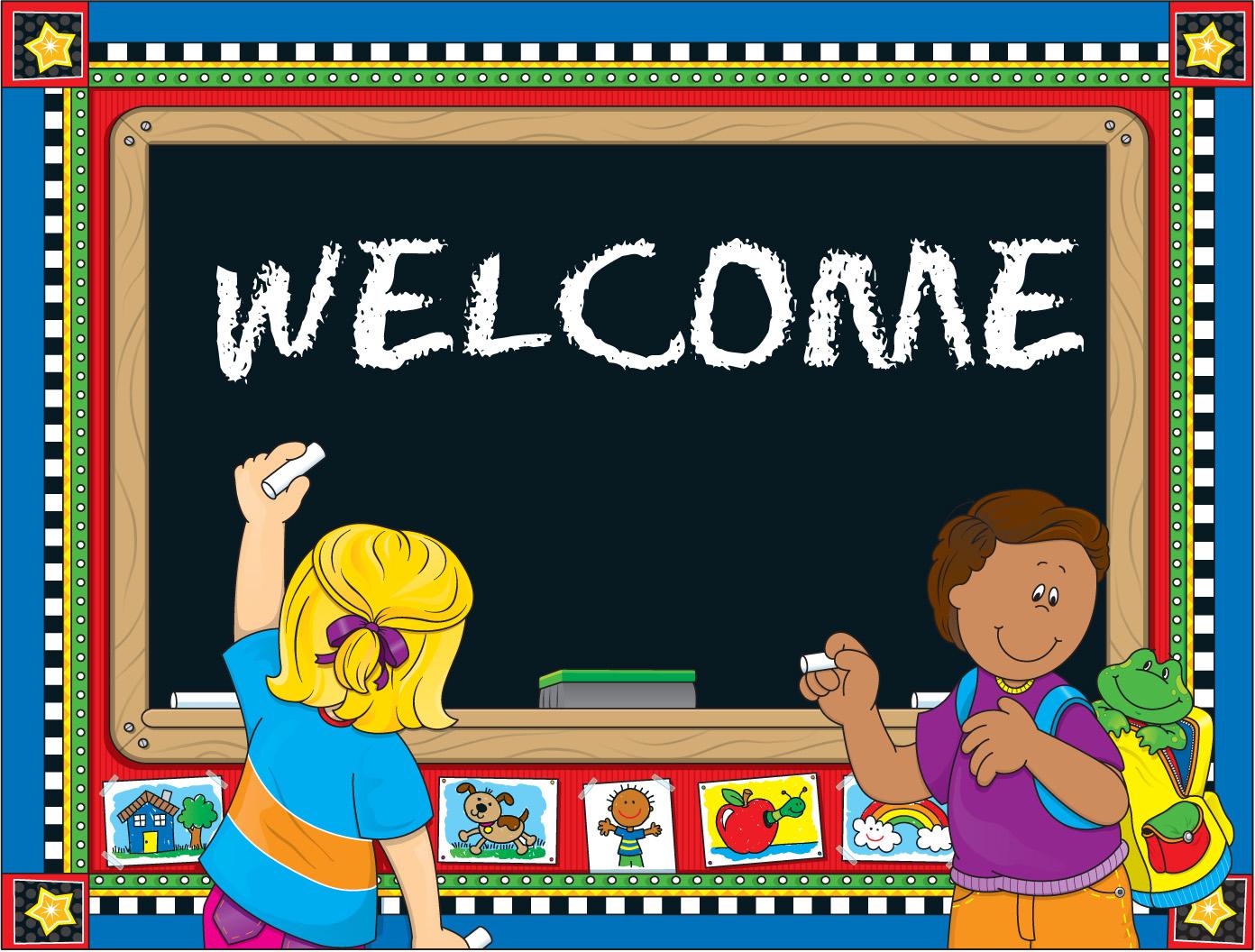 Classroom Welcome Design ~ El inglés en palabras