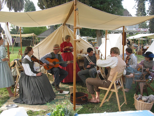 Fresno Civil War Reenactment