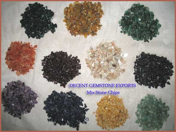 Different Types Of Decorative Stones : Decent gemstone exports decorative stone chips