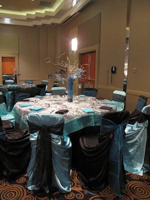 Black Snd Blue White Room