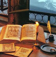 Mis antiguos útiles de escritura