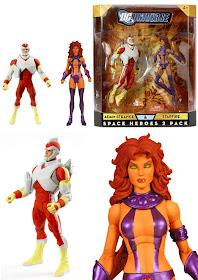 DC Universe Classics Adam Strange Starfire Space Heroes Figure 2-Pack Exclusif