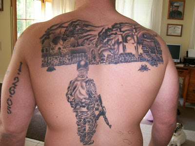 Rogue Gunner: Sundays Military Tattoo Of The Day