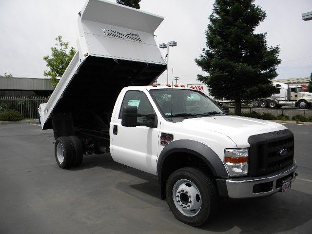 geweke commercial truck fleet sales new 2008 ford f550. Black Bedroom Furniture Sets. Home Design Ideas