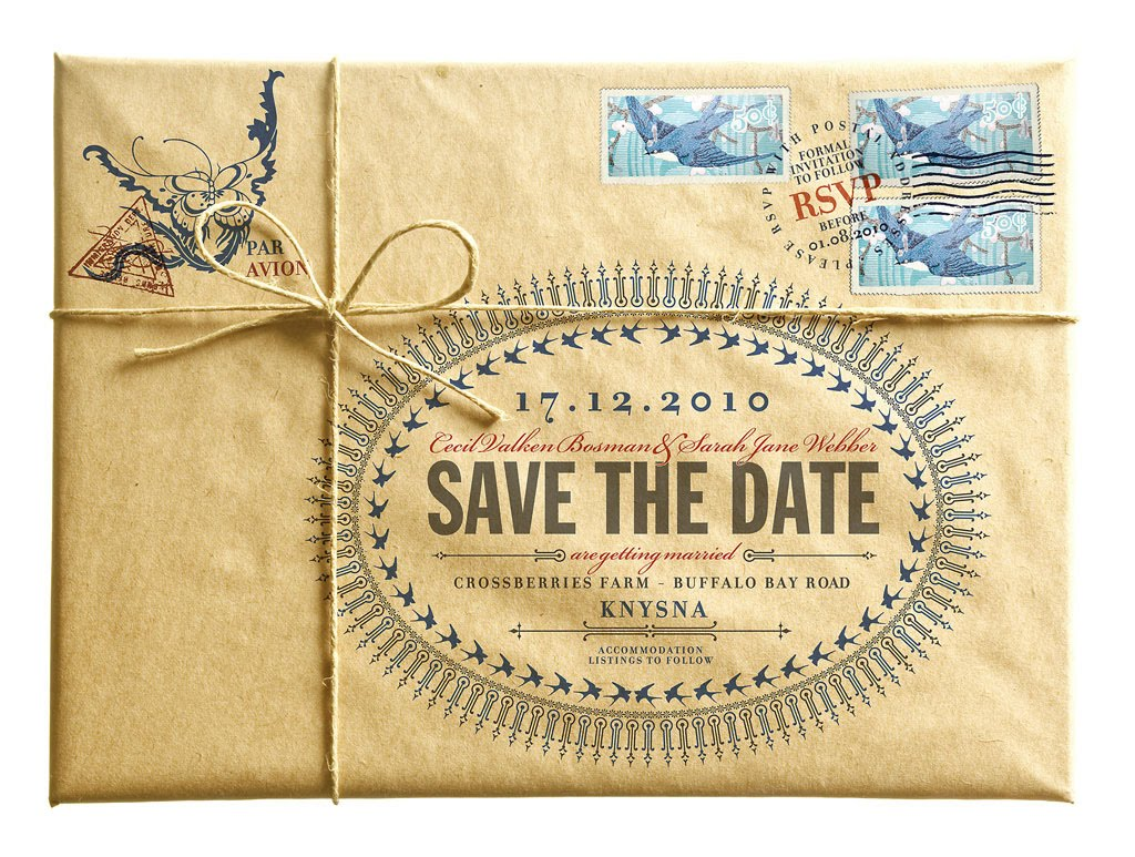 Design a save the date