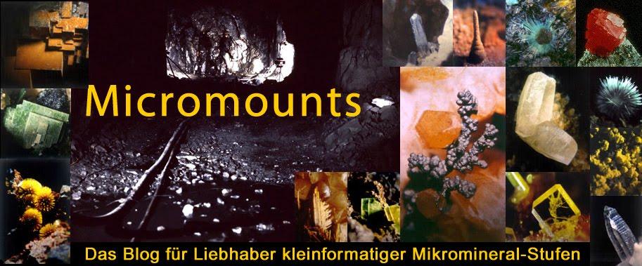 MICROMOUNTS - Das Blog für Liebhaber kleinformatiger Mikromineral-Stufen