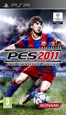 Download Pro Evolution Soccer 2011 EUR PSP Game (PES 2011)