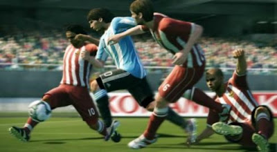 Screenshots Pro Evolution Soccer 2011 EUR PSP Game (PES 2011)