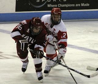 Hockey East: BU, Connolly Double Up Harvard
