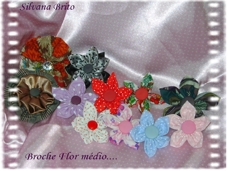 Broche Flor Pétalas...