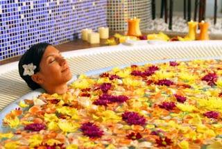 Un baño relajante y descansador
