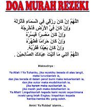 *Doa Murah Rezeki*