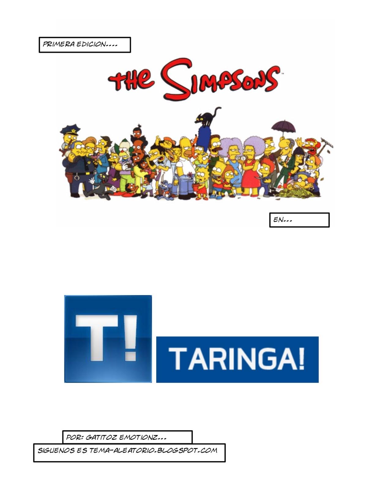 Homero y Taringa [Homero eres el Mejor]