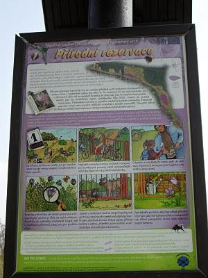 Přírodní rezervace Kamenný vrch: Informační tabule