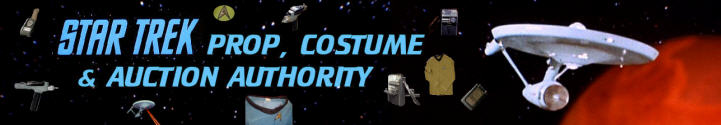 Star Trek Prop, Costume & Auction Authority