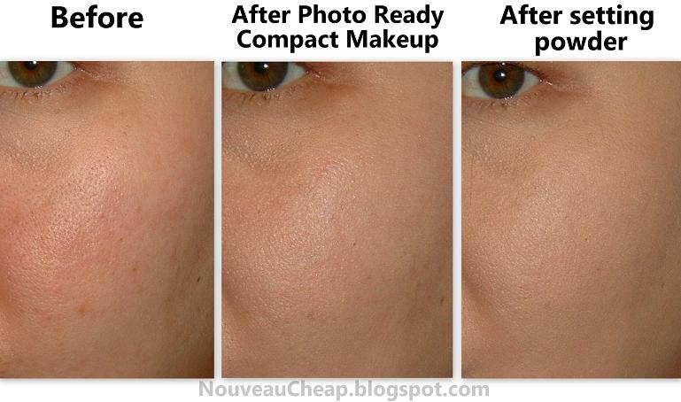 Foundation for redness and large pores
