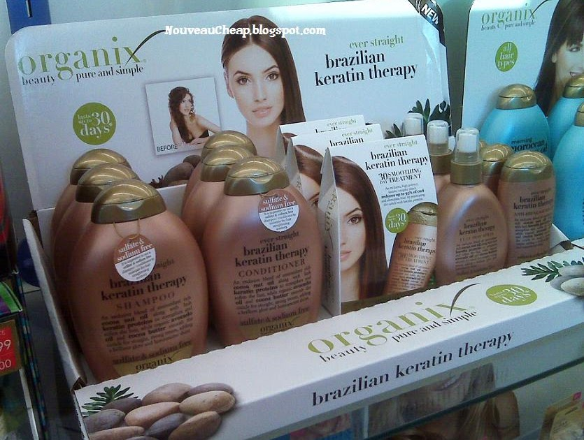 New Organix Brazilian Keratin Therapy & Moroccan Argan Oil collections   Nouveau Cheap